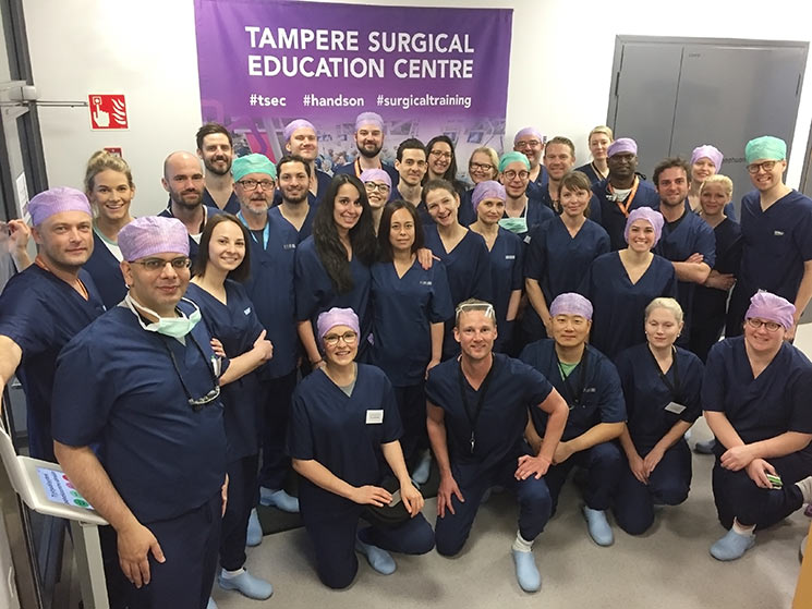 6th International Tampere Plastic Surgery Flap Dissection